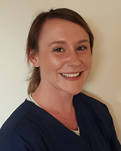 Chantel Slack Trainee Veterinary Nurse