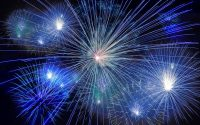 Noisy fireworks.